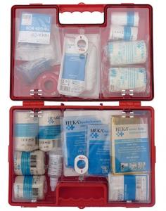 Inhoud EHBO koffer Oranje Kruis verbanddoos Oranje Kruis EHBO koffer
