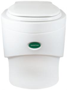 Beste goedkope compost toilet Separett Sanitoa
