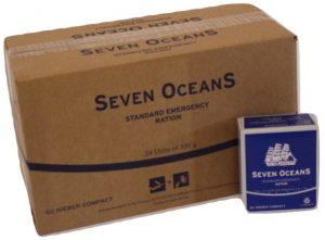 Seven Oceans noodpakket voedsel
